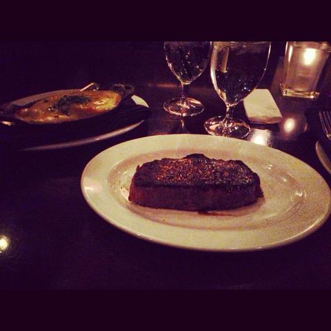 New York steak at The Vintage Chophouse & Tavern