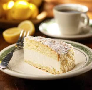 Lemon Cream Cake at Isaac's Restaurant & Deli