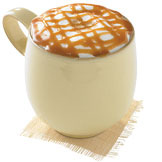 Caramel Macchiato at Starbucks Coffee