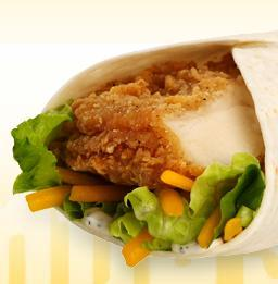 Homestyle Chicken Go Wrap at Friendly's