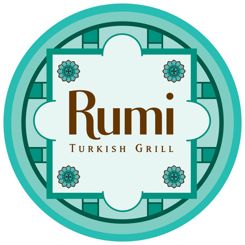 Logo at Rumi Turkish Grill