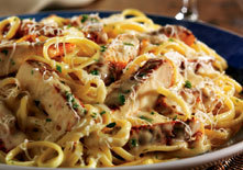 Cajun Chicken Linguini Alfredo at Red Lobster