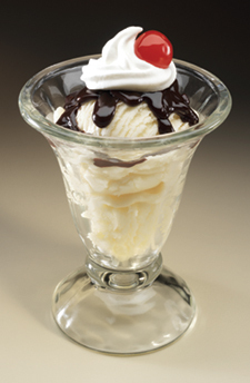 Junior Ice Cream Sundae at Big Boy Restaurants