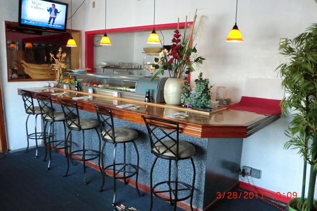 Interior at Sib Song Sushi and Thai