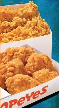 Dish at Popeye's Chicken & Biscuits