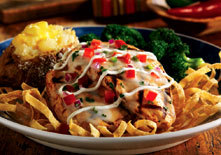 Aztec Chicken at Red Lobster