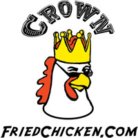 Logo at Crown Fried Chicken