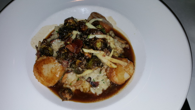 Photo of Scallops and risotto