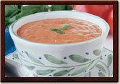 Tomato Basil at la Madeleine
