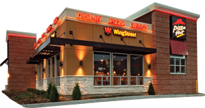 Exterior at Pizza Hut