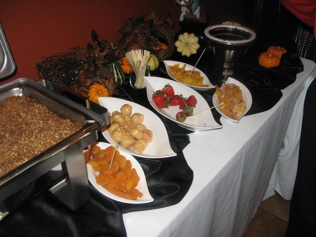 Chocolate Fondue - Dessert at Q Steakhouse