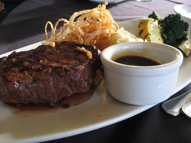Prime Top Sirloin at Harborside Restaurant & Grand