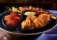 New England Seafood Sampler at Red Lobster