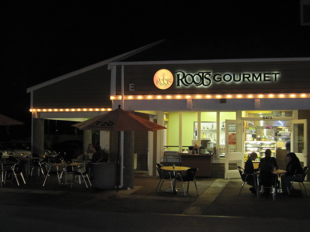 Exterior at Roots Gourmet