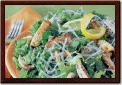 Caesar Salade at la Madeleine