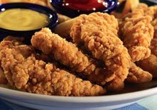 Chicken Breast Strips at Red Lobster