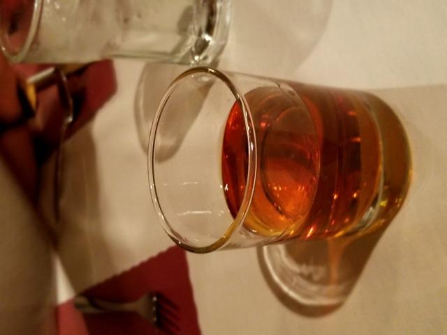 Bourbon Neat at Capri Steak House