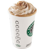 Cinnamon Dolce Creme at Starbucks Coffee