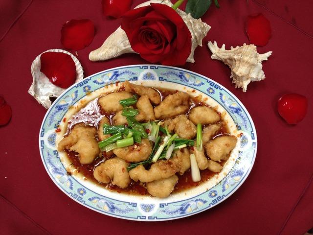 Peking Chicken at Mandarin Garden