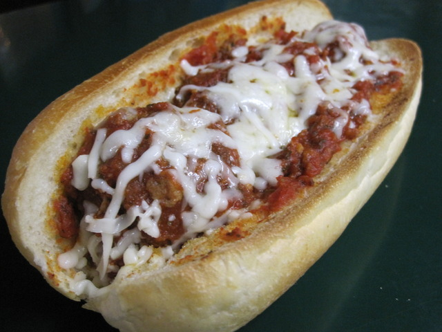 Meatball Sub at Perry's Pizza & Italian Restaurant