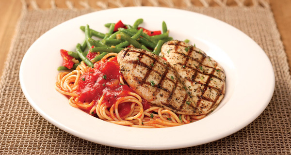 Grilled Chicken Diavolo at Carino's Italian Grill