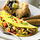 Omelet.jpg - Dish at Old Country Buffet - Coon Rapids