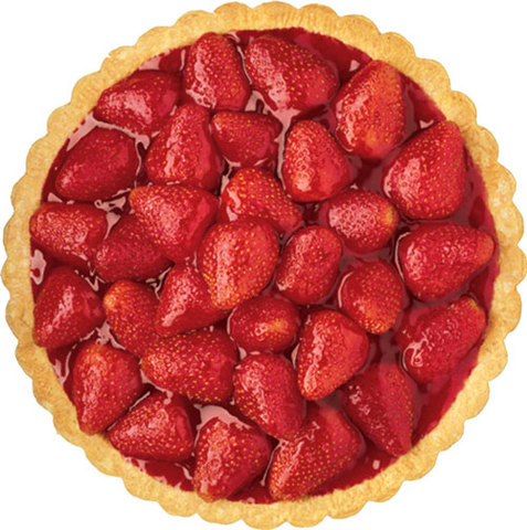Strawberry Pie at Big Boy Restaurants
