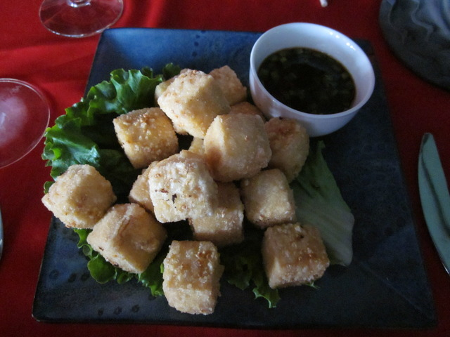 Tik-Tak-Tofu at Buddha Lounge