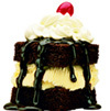 Hot Fudge Ice Cream Cake at Big Boy Restaurants
