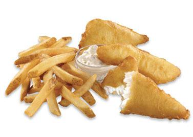 Fish & Chips at Carl's Jr.