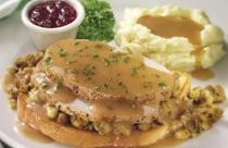 Open-Face Turkey at Perkins Restaurant