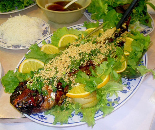 Baked Catfish at Phong Dinh Restaurant
