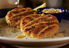 Pan-Seared Crab Cakes at Red Lobster