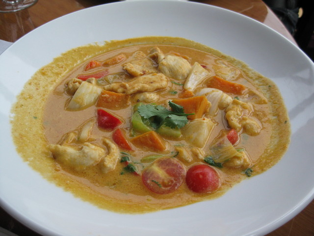 Photo of Chicken in Red Curry