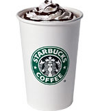 Hot Chocolate at Starbucks Coffee