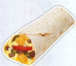 SuperSonic Breakfast Burrito at Sonic