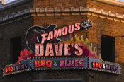 Exterior at Famous Dave's