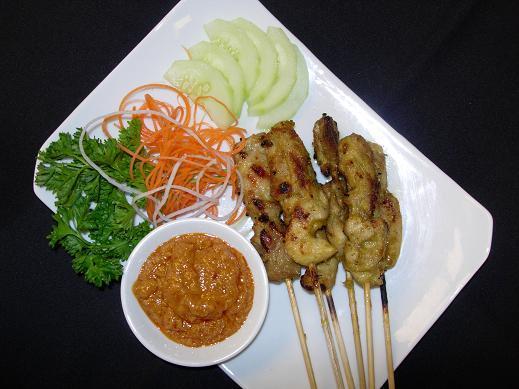 Restaurant Menu at SATAY - Thai Bistro & Bar