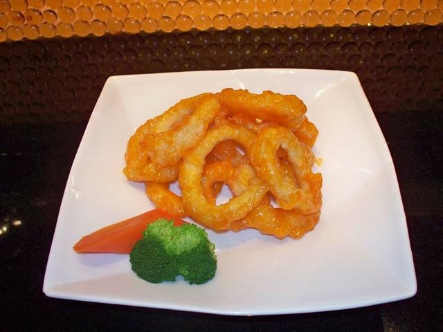 SPICY CALAMARI AP at Arisu Japanese Cuisine