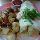 One of the tastiest breakfast burritos - Breakfast Burrito at Bongo Room