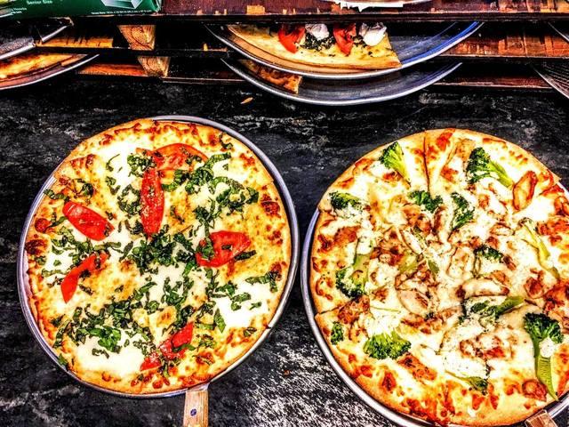 NY Style Thin Crust Pizza at Nico's Pizza