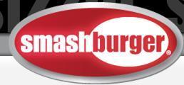 Logo at smash burger