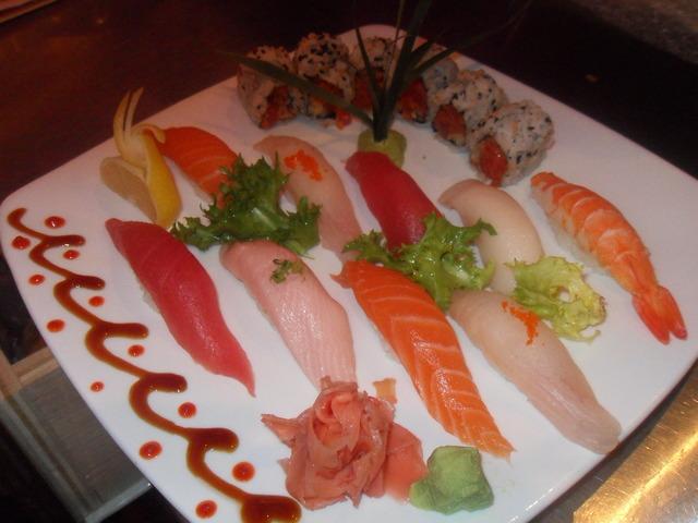 Sushi Deluxe at Shangerila Restaurant