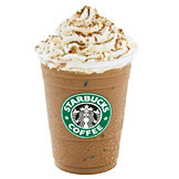 Iced Hazelnut Signature Hot Chocolate at Starbucks Coffee