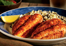 Farm-Raised Catfish at Red Lobster