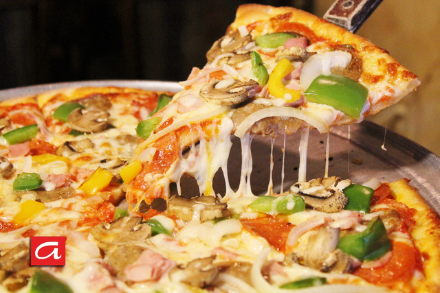 Deluxe Pizza - Deluxe Pizza at Antonios Pizza & Italian Restaurant