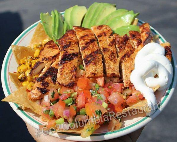 Chicken Bowl at columbia restaurant