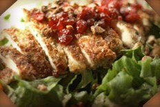 Pecan Chicken Salad at Cabbage Patch
