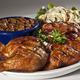 50. Memphis 1/2 Chicken Platter at Red Hot & Blue