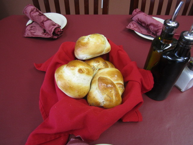 Our freshly made rolls - Fresh made rolls at Cucina Sophia
